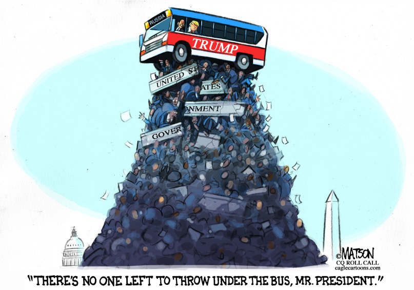 Image result for trump throw giuliani under the bus